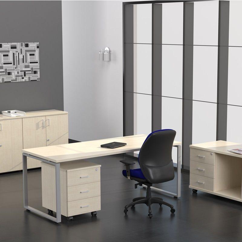 Mesa para oficina k bica aulamobel for Pasacables mesa oficina