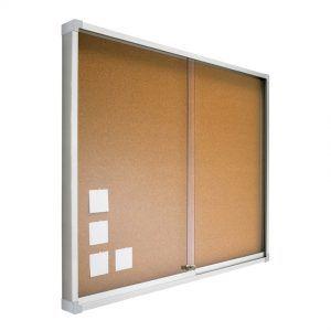 vitrina con puerta