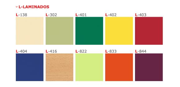 Colores mesas escolares
