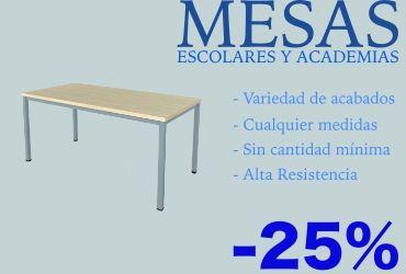 Mesas para academias