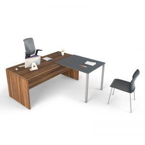 Distanciamiento mesa de oficina