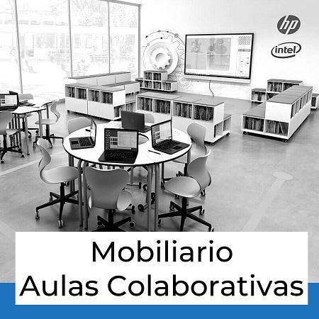 mobiliario para aulas colaborativas
