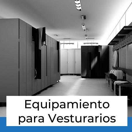 equipamiento para vestuarios